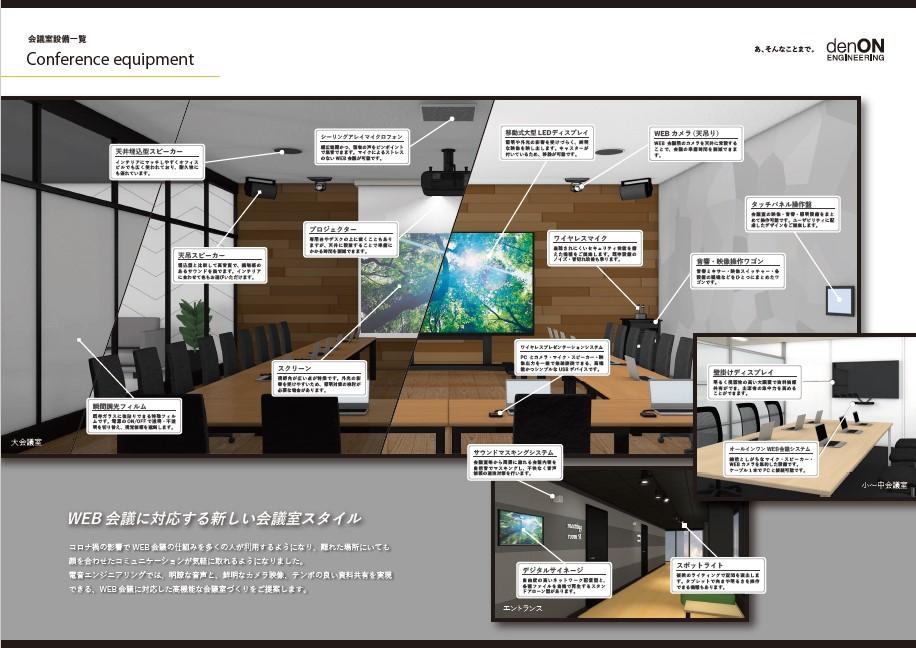 Web会議対応の設備