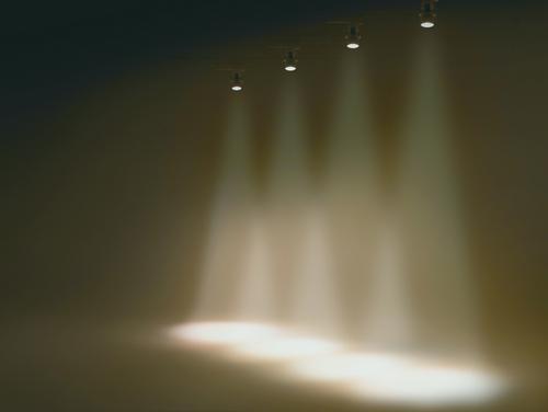 スマートスポットは既存のライティングレールに設置が可能なため、照明工事をせずに、調光演出を導入できます