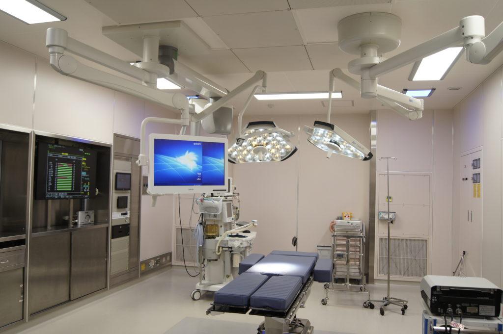 手術室全景(提供:長良医療センター様)