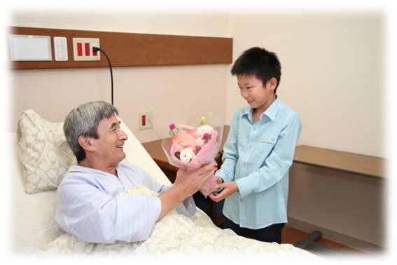 入院患者さんとご家族の面会