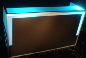 LEDバーカウンター
