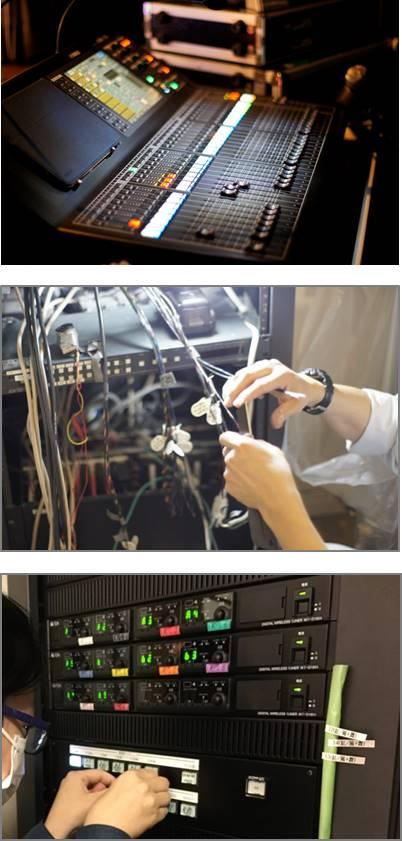 業務用AV機器のオペレーション、ファシリティ業務