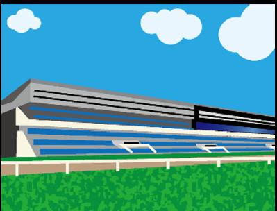 競馬場のイメージ