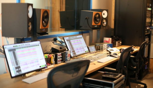 スタジオ内の様子①