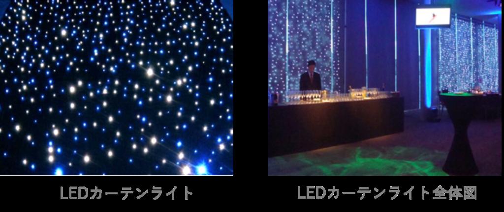 LEDカーテンライト