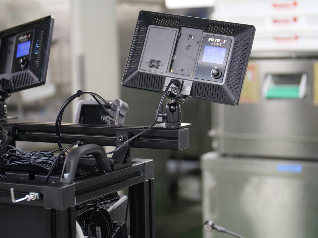 撮影機器フレーム裏側