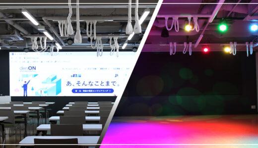 導入事例|ワイド型LEDディスプレイ・演出用音響照明システム(京都医健専門学校様)