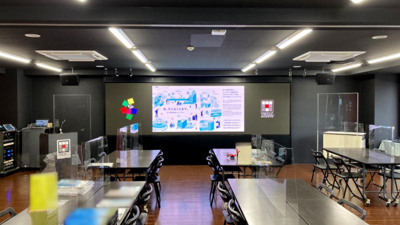 名古屋デザイン&テクノロジー専門学校様_LEDディスプレイ